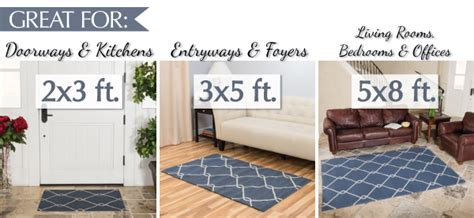 how big is a 3x5 rug find your area rug harbormill