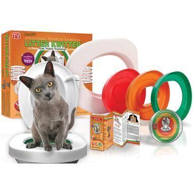 worst  skymall cat toilet training