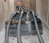 high voltage cable laying high voltage cable laying and jointing cable installation