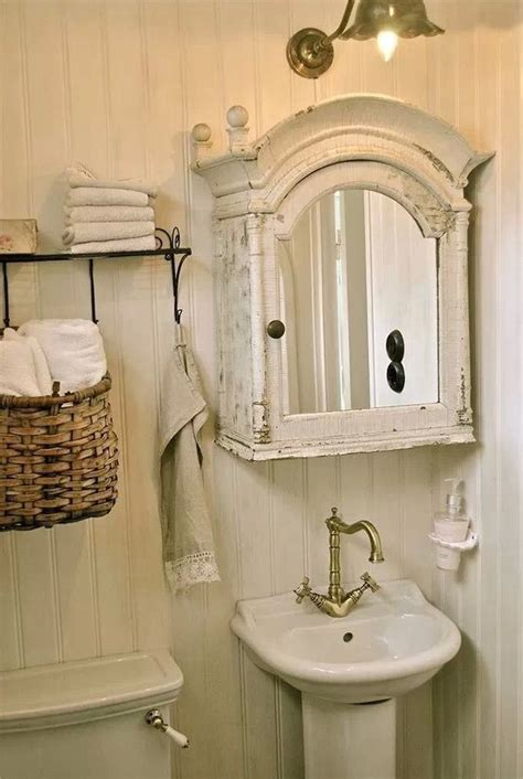 shabby chic bathrooms images  pinterest