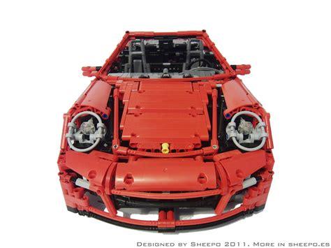 lego mini cooper porsche este porsche 911 turbo cabriolet de lego tem motor e
