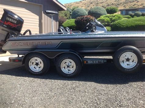 used bass boats for sale washington state 1990 skeeter boats for sale in moses lake washington