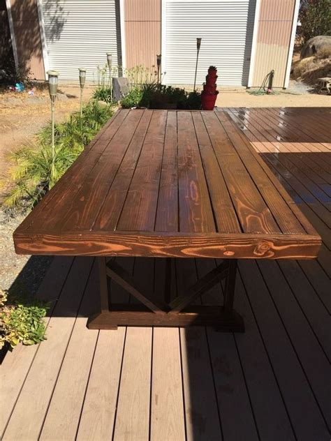 large patio dining table best 25 outdoor dining tables ideas on patio
