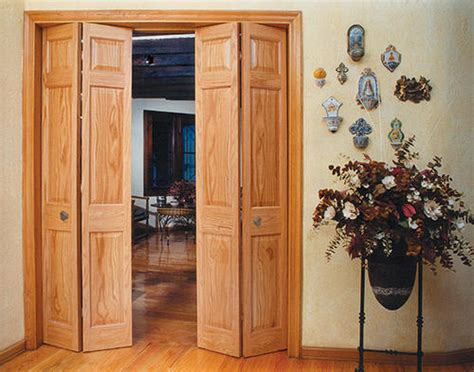oak bifold closet doors solid wood bifold doors serbyl decor