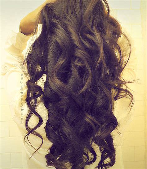 soft curl hairstyle romantic soft curls for long hair tutorial valentine s