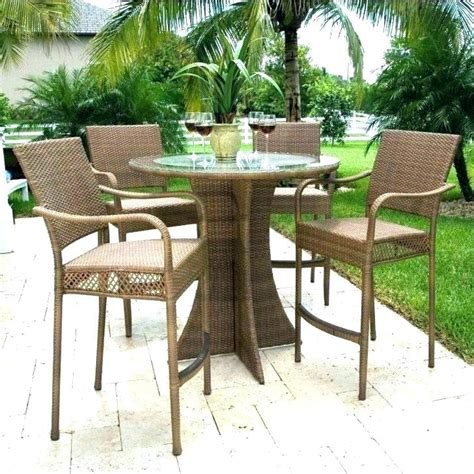 high top pit table high top patio sets table with pit furniture