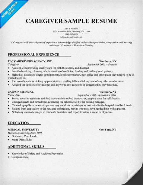 unforgettable full time nanny resume examples to stand out