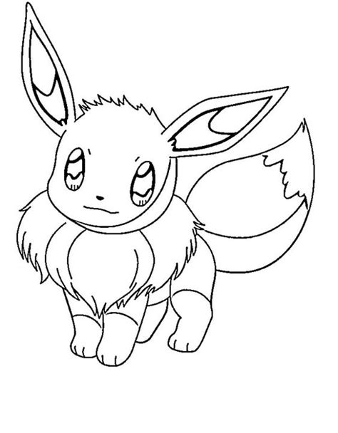 cute pokemon coloring pages eevee cute eevee pokemon coloring pages pokemon coloring pages