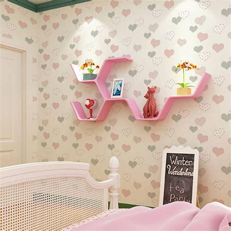 Wallpaper 1roll 1roll 0 53 10m 3d kid s room wallpaper hearts wall