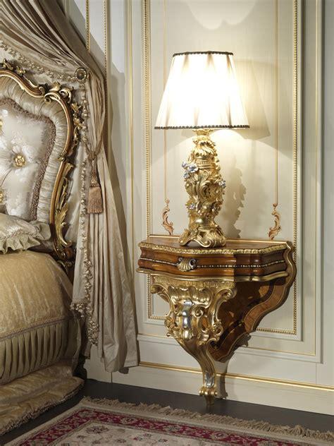 baroque classic night table art  vimercati classic furniture