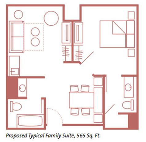 disney all family suite floor plan disney s of animation resort the magic for less travel