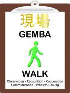 gemba walk template gemba walk
