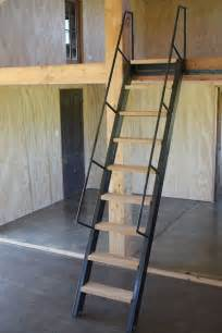 Mezzanine Stairs Design Loft Mezzanine Layout Concept Industrial Simplistic Open To Garage Shop Below Work Rev