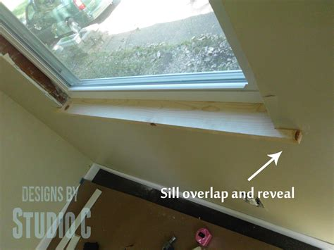 How To Build A Window Sill Replacing A Window Sill And Framing The Window Designs