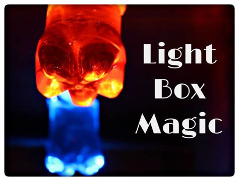 light experiments for kids science experiment for kids light box magic