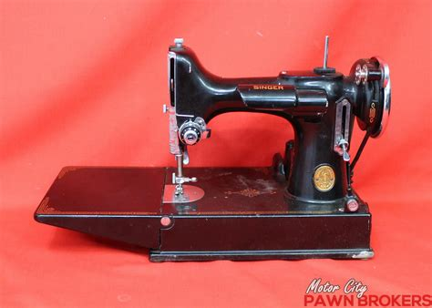 singer featherweight sewing machine 1940s 221 1 portable with singer featherweight 221 1 vintage 1940 electric