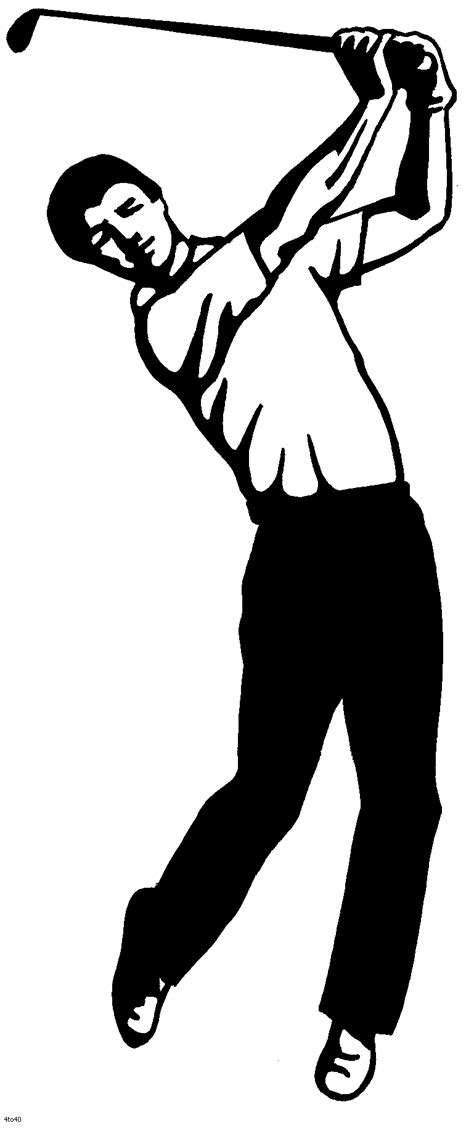 golf clipart black and white golf clip black and white clipart panda free