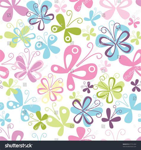 butterfly pattern stock butterfly seamless pattern stock vector 87731494