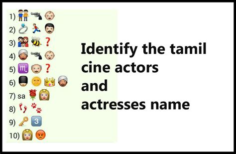 guess actress name whatsapp quiz whatsapp puzzles guess tamil movie actor and actress