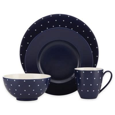 Kate Spade Tisbury Avita by Buy 174 Tisbury 4 Place Setting In Navy From