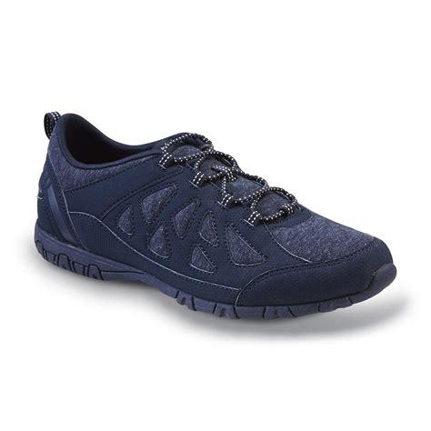 memory foam athletic shoes athletech s blue carolyn memory foam athletic shoe