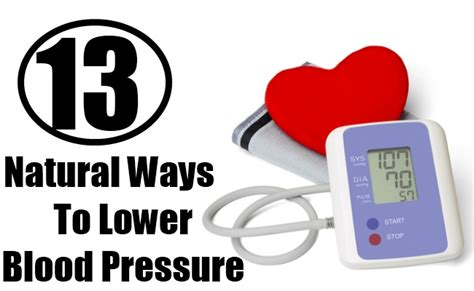 13 ways to lower blood pressure top diy health