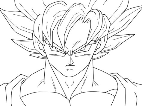 imagenes de goku fase 10 fanfic para dibujar descargar goku super sayayin para colorear imagui