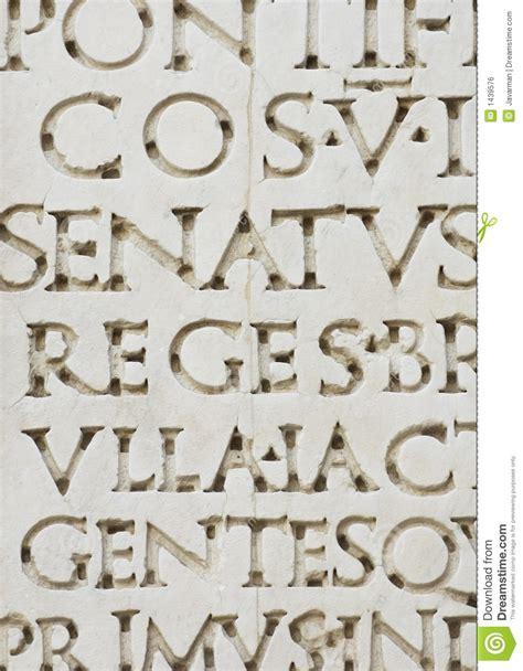 lettere romane lettere romane immagine stock libera da diritti immagine