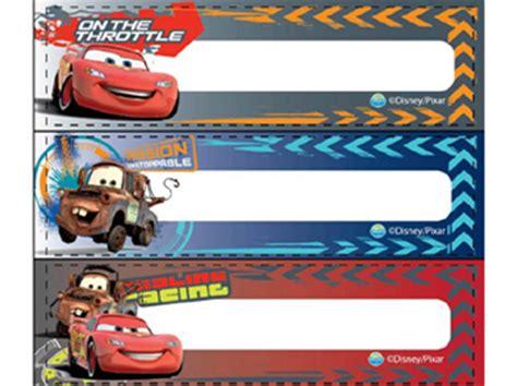 Stiker Label Nama The Cars character zakka shop pretzel rakuten global market cars