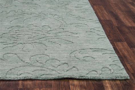 10 x 14 grey wool rug uptown floral print pattern wool area rug in grey 10 x 14
