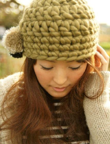 knit punto de media on pinterest 48 pins gorro con lana gruesa con patr 243 n japo ganchillo