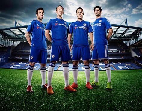 Chelsea Home 2015 chelsea home kit 2015 16 new football kits for 2015 16