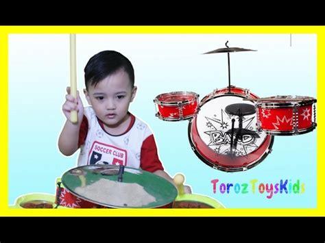 Mainan Drum Set Anak2 3 In 1 bermain drum mainan anak baby drums set toys for
