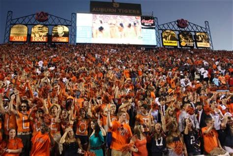 auburn football student section no 2 propels auburn to no 1 the auburn plainsman