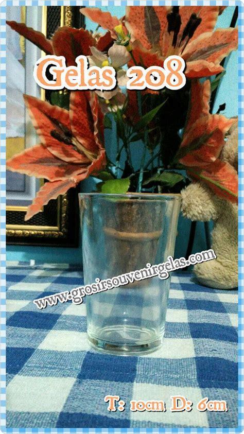 Harga Souvenir Pernikahan Gelas by Souvenir Gelas Pernikahan Sablon Gelas Bening Gelas