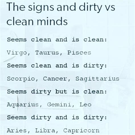 nope i definetly got a dirty mind pisces signs