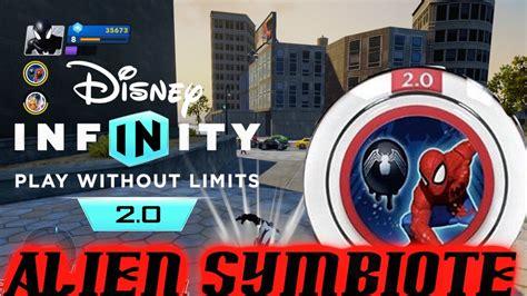 disney infinity marvel super heroes alien symbiote