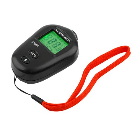 Digital Mini Thermometer mini digital non contact ir infrared lcd thermometer dt 300 black ud6 e0 ebay