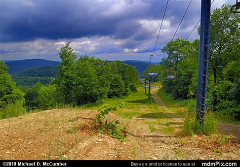 Blue Knob Ski Pa by Blue Knob Ski Resort Slopes Picture 040 July 18 2009