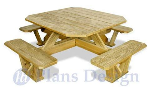 square picnic table plans traditional square picnic table benches woodworking