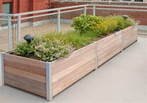 Rooftop Planters rooftop balcony planters landscaping network