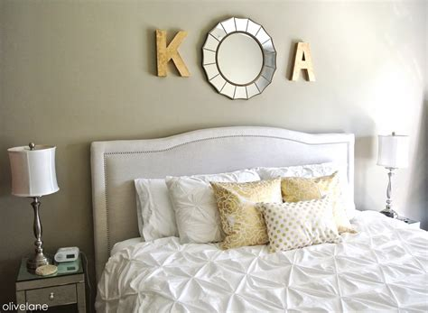 white and gold bedding olive lane master bedroom update gold white