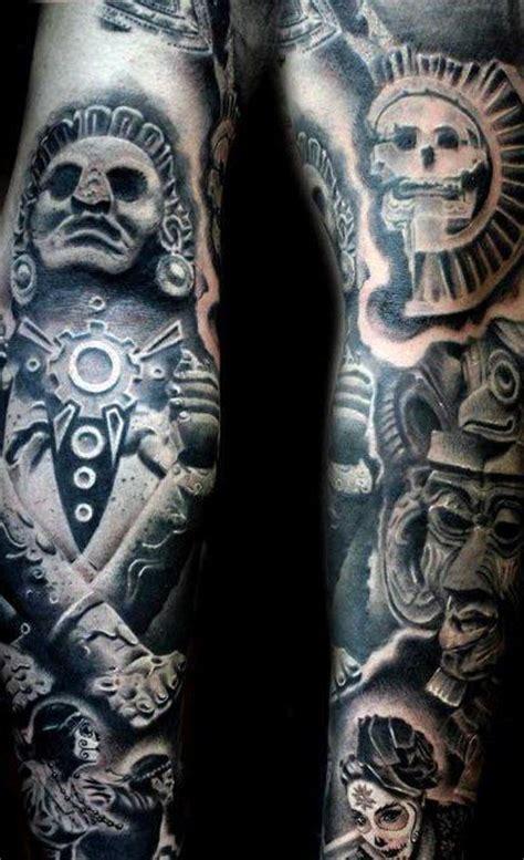 imagenes de tatuajes mayas y aztecas tatuajes aztecas