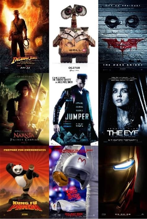 recommended film releases best movie released in 2008