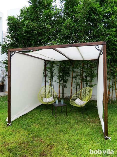 backyard shade canopy diy outdoor privacy screen and shade tutorial outdoor