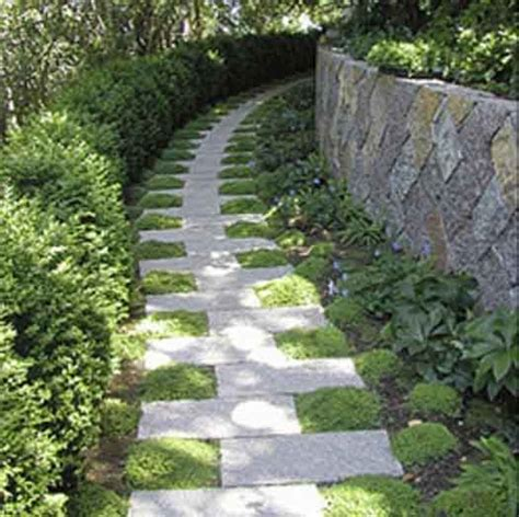 Backyard Path by Cool Garden Paths That Are The Beaten Path