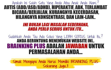 Produk Brainking Plus testimoni brainking solusi brainking plus