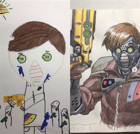 doodle name iqbal doodle from sons transformed into amazing anime