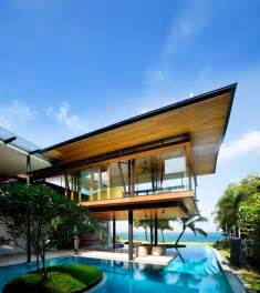environmentally friendly modern tropical house in singapore idesignarch interior design
