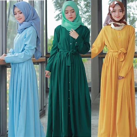 Baju Wanita Grosir Midory Dress grosir baju muslim alida dress grosir baju muslim